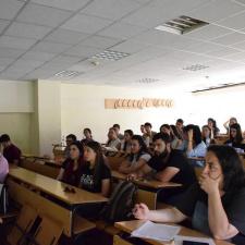 Лекция в лесотехнически университет